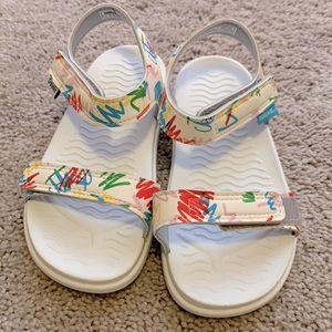 NWOT Native x Crayola Charley Sandals